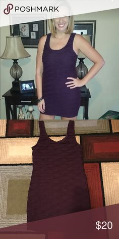 Forever 21 Dress 💃 Beautiful Purple Mini Dress from Forever 21 in a women's size large. It's in excellent condition and is super sexy. Must see to appreciate. Asking only $20. Thanks for looking and check out my closet for the rainbow stilettos listed that would pair great with this dress! Happy poshing😊💖🤘 Forever 21 Dresses Mini