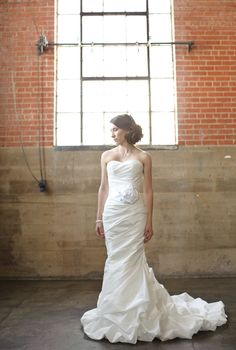 Allure Bridals Style 8526 - Wedding Photography: Colton Bradshaw of Sixfourteen Photography