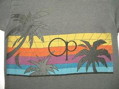 Summertime fashion in the 80s meant Ocean Pacific (Op), Panama Jack, and Body Glove.
