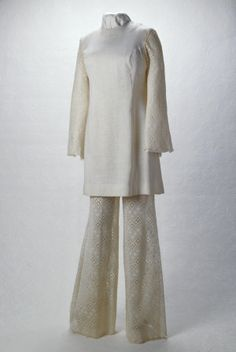 Two piece Wedding Outfit of Kathleen Trost Ross (1970)