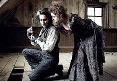 Sweeney Todd - I love the satire at work in this musical, and it's another with great visual style