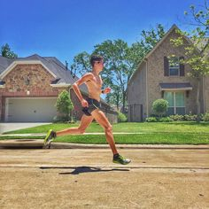 """Brick workout this morning 1 hour bike  3k @5:48 pace plus 2mi cool down 93F #runnerspace #runtoinspire #bike #motivation #hotaf #justrunnnxc #garmin #runnergang #runnerhigh #findyourstrong #saucony #kinvara #runfree #sosberry #runneraddict  """"With self-discipline all things are possible""""-TR by rodrigosdlp"""