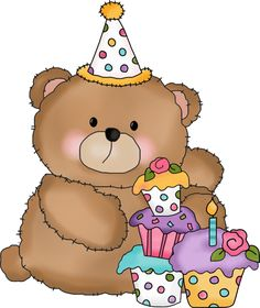 Happy Birthday Teddy Cake