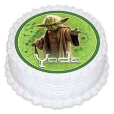 Edible image Star Wars Yoda