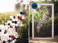 Have a normal frame that we will put chicken wire in and wll have people write notes to newlywed. guest book wall made of chicken wire Wedding Guest Book, Our Wedding, Wedding Reception, Wedding Notes, Chicken Wire Frame, Guest Book Alternatives, Partys, Green Wedding Shoes, Blog