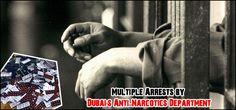 Multiple Arrests by Dubai's Anti-Narcotics Department