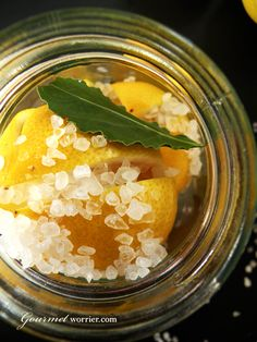 Making this tonight - preserved lemons.
