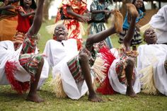 Watoto children sing and dance out the pain