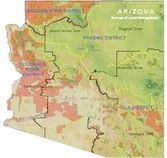 Arizona list of places to visit, rockhound, and otherwise engage in geology of the area