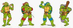 Resultado de imagem para tartarugas ninjas desenho