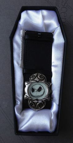 Nightmare Before Christmas Jack Skellington Watch