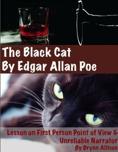 character analysis of the narrator in the black cat by edgar allan poe In the black cat, the narrator is going through a hard time where there he is really struggling the narrator becomes an alcoholic and he starts treating everyone different, except for his black cat the black cat was a story, like many otheres of poe's that talked about rather disturbing things.