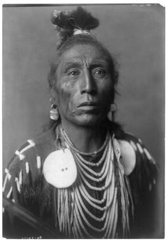 Medicine Crow by Edward Curtis