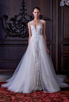 Brides: Spring 2016 #Wedding Dress Trends 2016年春の#ウェディングドレス トレンド「オーバースカート」