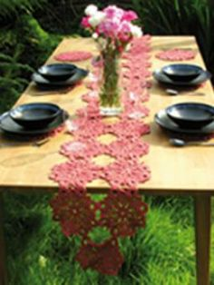 Rowan Table Runner and Placemats