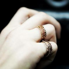 Apriati Bling Bling, Greece, Jewelery, Outfit, Rings, Gold, How To Make, Beauty, Fashion