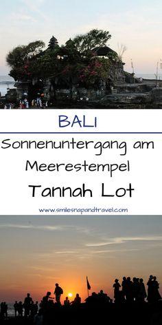 #tempelbesichtigung beim #tannahlot in #bali und dort einen spektakulären #sonnenuntergang genießen!