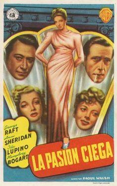 """La pasión ciega (1940) """"They Drive by Night"""" de Raoul Walsh - tt0033149"""