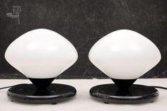 2x Optelma OA 2 Nachttischlampe | cyan74.com vintage & pop culture