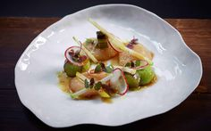 Love this Scallop Ceviche dish from 22Ships; goes great with a glass of the Ant Moore Pinot Gris - https://cellarmasterwines.com/products/ant-moore-pinot-gris-2012