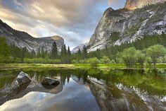 Yosemite Reflections - Mirror Lake, Yosemite