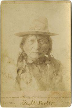 Sitting Bull circa 1885.