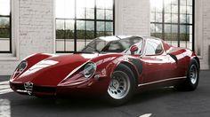 Alfa Romeo 33 Stradale 1967                                                                                                                                                                                 More