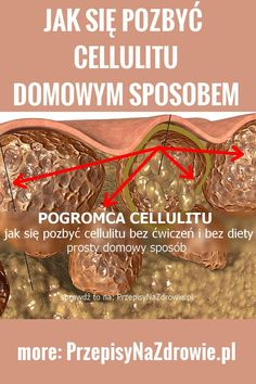 przepisynazdrowie.pl-cellulit-jak-sie-pozbyc-cellulitu Detox, Good Things, Health, Beef, Fitness, How To Make, Food, Ideas, Day Care