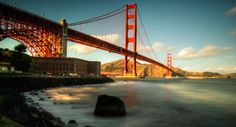 Golden Gate Bridge, San Francisco - I've lived here. no, not under the bridge. but right across from it in Sausalito :)