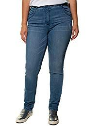 Women's Plus Size Lightly Distressed Jeans 717317 Casual Chic Outfits, Casual Chic Style, Birkenstock Outfit, Gym Clothes Women, Womens Workout Outfits, Distressed Jeans, Jeans Style, Women's Fashion, Jeans Fashion