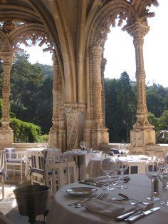 Portugal. gorgeous manueline  Bussaco Palace Hotel