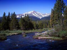 Mountains (Colorado) This is Mt. Elbert (Colorado's tallest 14er)