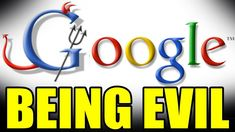 """Google Employees Catch Their Own Company """"BEING EVIL"""""""