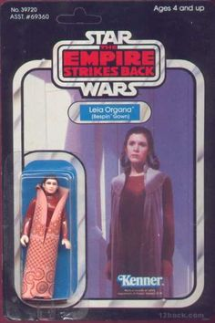 Action Figure Boxes - Star Wars: Leia Organa