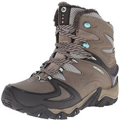 Merrell Womens Polarand 8 Waterproof Winter Boot Boulder 105 M US *** This is an Amazon Affiliate link. Check out this great product.