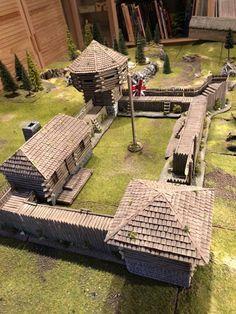 English Restoration, Dungeons And Dragons Homebrew, Wargaming Terrain, American Revolutionary War, Fortification, Model Building, Bushcraft, Bernard Cornwell, House Plans