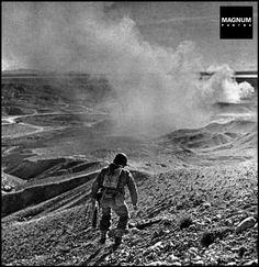 TUNISIA. El Guettar. March 1943. American soldier//Robert Capa