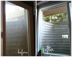 Blogger reviews on pinterest window cleaner for Fish window cleaning reviews