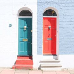 "Alexis Somerville is a Brighton, UK Instagrammer who has been sharing interesting doors all around her hometown in the #doortraits tag. Inspired to start snapping? Take her advice: ""Look out for interesting doors around you and think about framing, symmetry and light."""