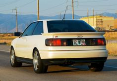 1990 Audi Coupe Quattro For Sale Rear