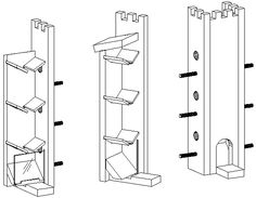 Printable Bird House Plans | Free Woodworking Birdhouse Plans 70 Birds that Nest in Birdhouses ...