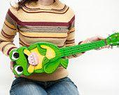 The coolest custom made ukuleles on etsy!
