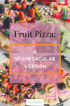 Fruit Pizza Recipe: A Spooktacular Version - The Sprouting Minds