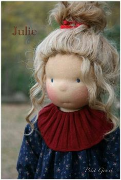 Julie. this hair reminds me of Maddie
