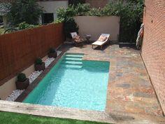 Et si vous optiez pour une piscine XS ? #piscine #summer #immobilier