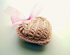 Rosa acessórios em tricô & crochê