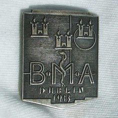 This badge was issued to delegates of the 101st annual British Medical Association (BMA) conference held in Dublin on the 27th July 1933.