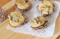 THE Chocolate Chip Cookie   Soft, thick, and puffy chocolate chip cookies. The cornstarch is the secret!          Ingredients:  3/4 cup (1.5...