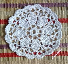 Tecendo Artes em Crochet: Porta-Copos / Coasters