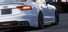 For All Audi A5 S5 RS5 B8 Rear Trunk Boot Spoiler Lip Wing Sport Trim Lid s Line | eBay